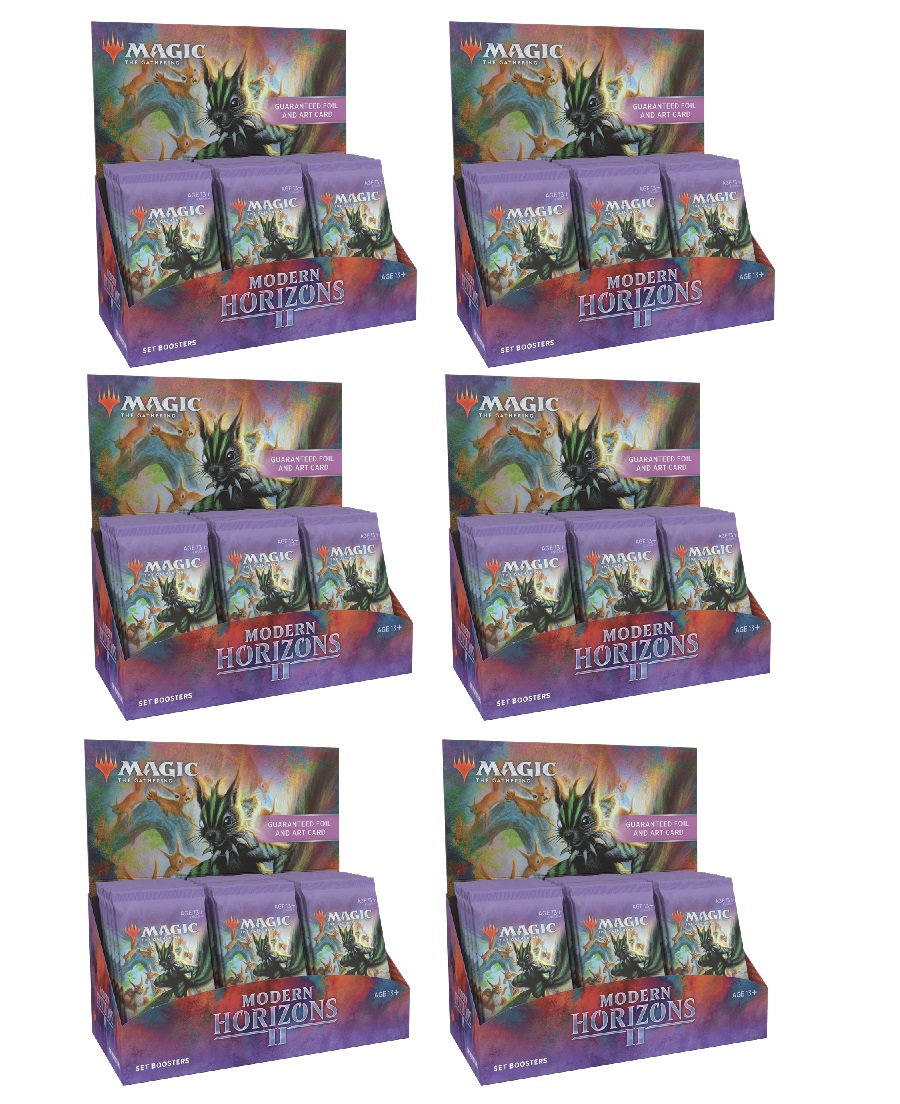 Modern Horizons 2 Set Booster Case (6 Boxes)