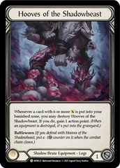Hooves of the Shadowbeast - 1st Edition