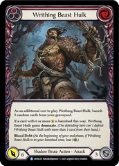 Writhing Beast Hulk (Red) - 1st Edition