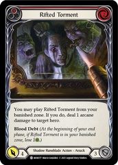 Rifted Torment (Red) - 1st Edition