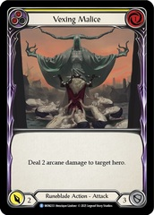 Vexing Malice (Yellow) - 1st Edition