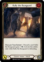 Rally the Rearguard (Yellow) - 1st Edition