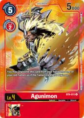 Agunimon - BT4-011 - U - Alternative Art