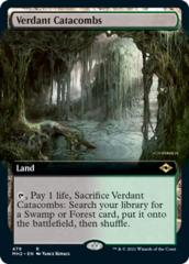 Verdant Catacombs - Foil - Extended Art