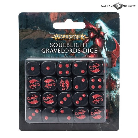 Age Of Sigmar: Soulblight Gravelords Dice