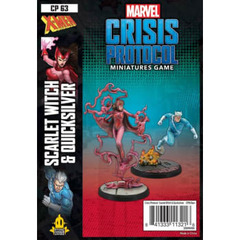 Marvel: Crisis Protocol - Scarlet Witch and Quicksilver Character Pack