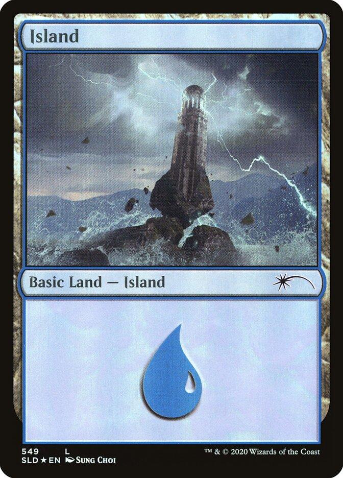 Island (549) - Foil