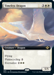 Timeless Dragon - Foil - Extended Art