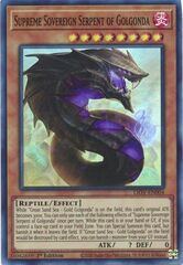 Supreme Sovereign Serpent of Golgonda - LIOV-EN004 - Super Rare - 1st Edition