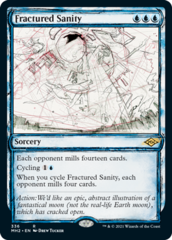 Fractured Sanity - Foil - Showcase
