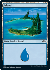 Island (483) - Foil