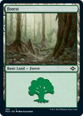 Forest (489) - Foil Etched
