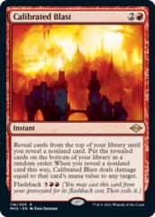 Calibrated Blast - Foil