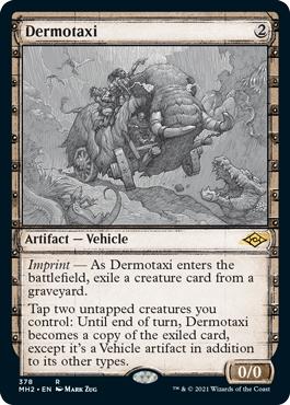 Dermotaxi (Showcase) - Foil
