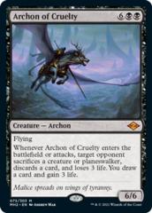 Archon of Cruelty - Foil (MH2)