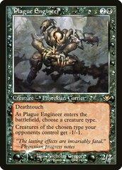 Plague Engineer - Foil - Retro Frame