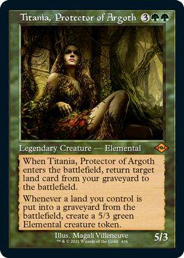 Titania, Protector of Argoth - Retro Frame