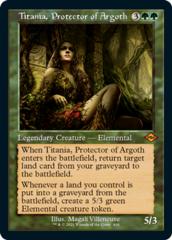 Titania, Protector of Argoth - Foil - Retro Frame