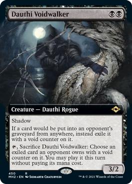 Dauthi Voidwalker - Foil - Extended Art