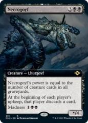 Necrogoyf - Foil - Extended Art