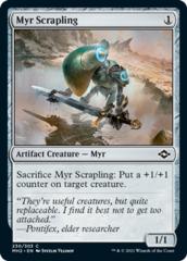 Myr Scrapling - Foil