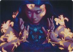 Blossoming Calm Art Card