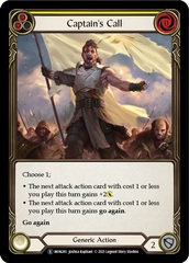 Captain's Call (Yellow) - Unlimited Edition