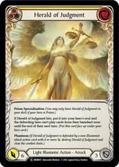 Herald of Judgment - Rainbow Foil - Unlimited Edition