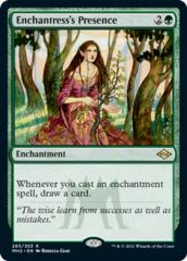 Enchantress's Presence - Foil Etched