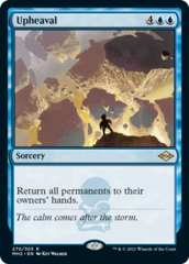 Upheaval - Foil Etched