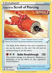 Single Strike Scroll of Piercing - 154/198 - Uncommon
