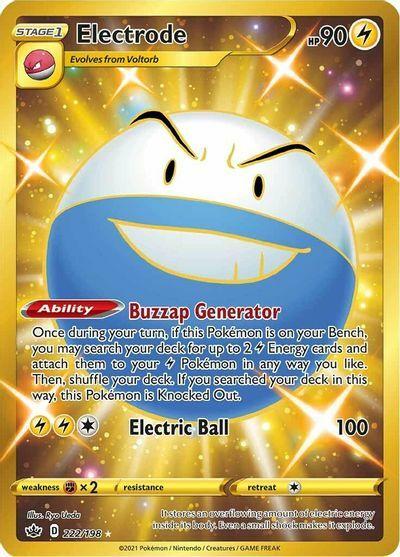 Electrode - 222/198 - Secret Rare
