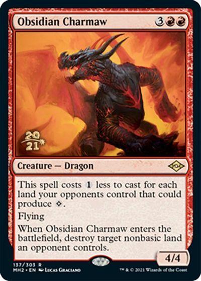 Obsidian Charmaw - Foil - Prerelease Promo