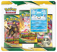 Sword & Shield - Evolving Skies 3-Booster Blister - Eiscue