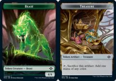 Beast Token // Treasure Token (021) - Foil