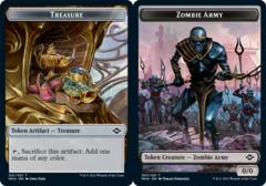 Treasure Token (021) // Zombie Army Token - Foil