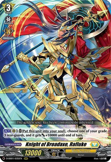 Knight of Broadaxe, Rafluke - D-SS01/035EN - RRR