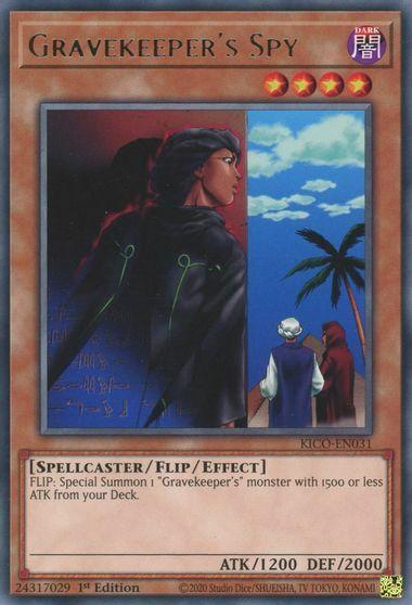 Gravekeepers Spy - KICO-EN031 - Rare - 1st Edition