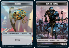 Thopter Token // Zombie Army Token