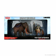 D&D Icons of the Realms: Frost Giant and Mammoth Premium Figure
