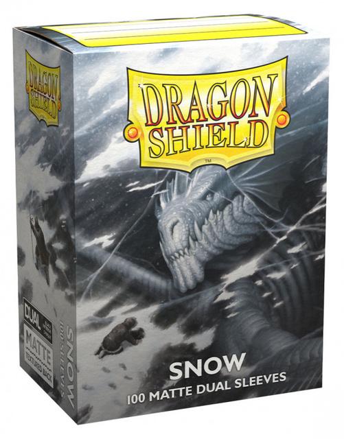 Dragon Shield Dual Matte Sleeves: Snow