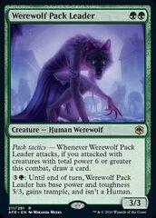Werewolf Pack Leader - Foil