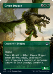 Green Dragon - Foil - Borderless