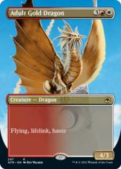 Adult Gold Dragon - Borderless