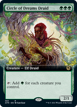 Circle of Dreams Druid - Extended Art