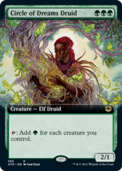 Circle of Dreams Druid - Foil - Extended Art