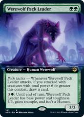 Werewolf Pack Leader - Extended Art