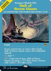 Hall of Storm Giants - Dungeon Module