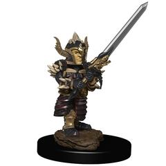 D&D Premium Painted Figure: W6 Halfling Fighter Male