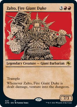 Zalto, Fire Giant Duke - Showcase